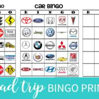 I Spy Road Trip Bingo!
