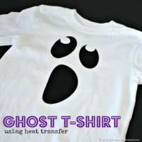 Ghost Shirt   Free Heat Transfer Cut File