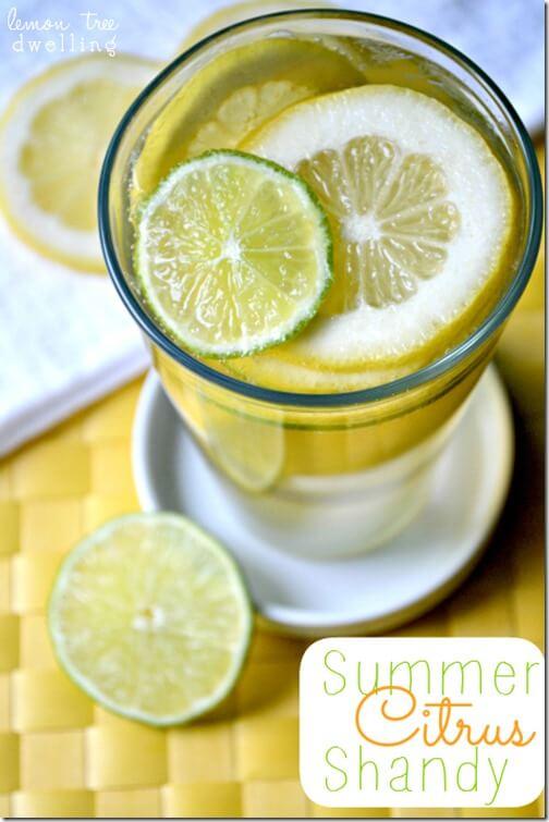 Summer Citrus Shandy 1