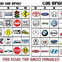 I Spy Road Trip Bingo!