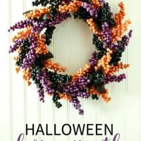 Berry Halloween Wreath