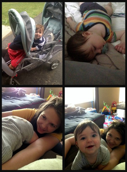 stroller, sleeping, play