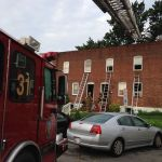 Brooklyn Park fire injures one. Anne Arundel County Fire Department.