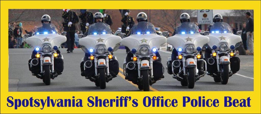 Spotsylvania Sheriffs Office Police Beat