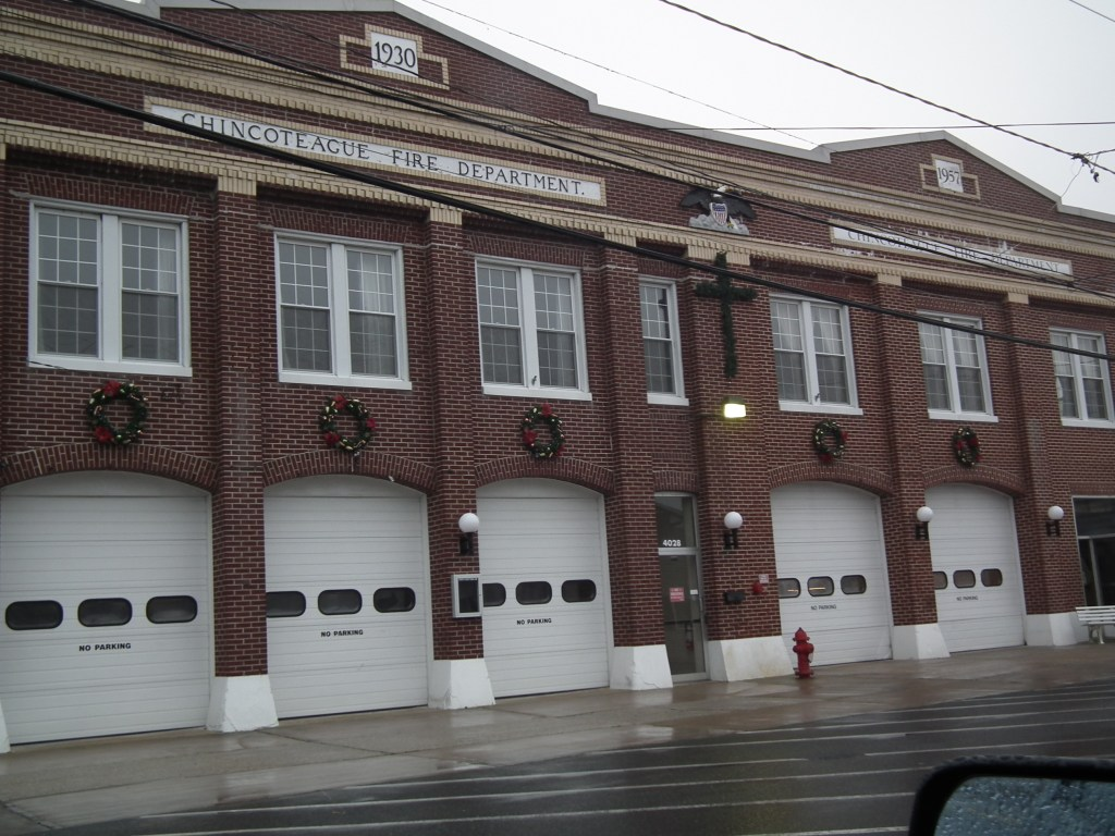Chincoteague Vol Fire Dept. THE CHESAPEAKE TODAY photo