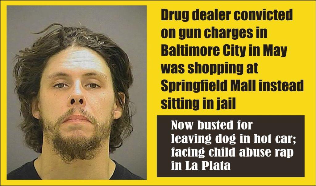 Brandon Proskey went shopping instead of to jail on gun rap