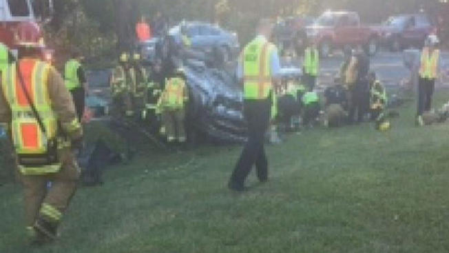 Fatal crash in Spotsylvania County with drunk driver behind the wheel. Photo courtesy of NBC4