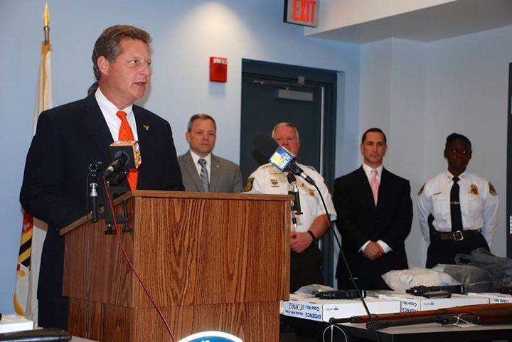 Officials announce drug dealer roundup in Anne Arundel