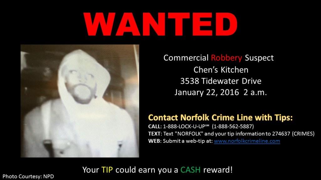 Chen Kitchen Robbery