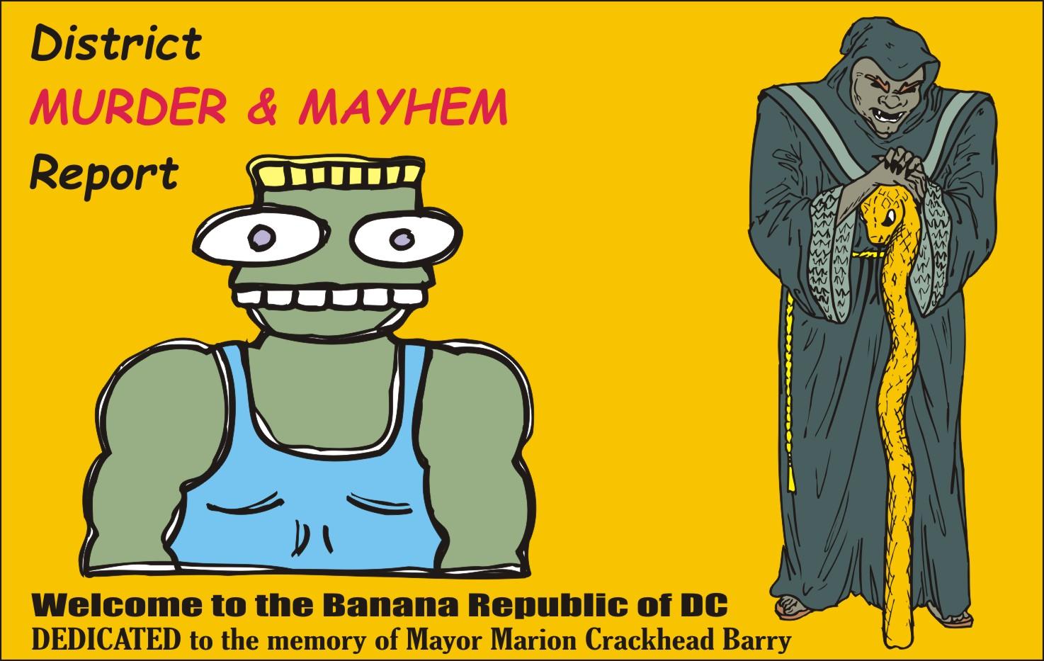dc murDer Mayhem report