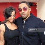 Melyssa Ford and Ishmael Ford-Bey at an exclusive function for a celebrity in Los Angeles - Photo Getty Images
