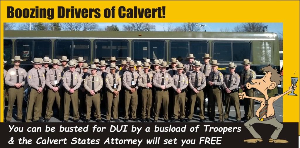 Boozing Drivers of Calvert