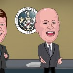 """St. Mary's Board of Commissioners - """"We don't know nothin"""" THE CHESAPEAKE TODAY graphic"""