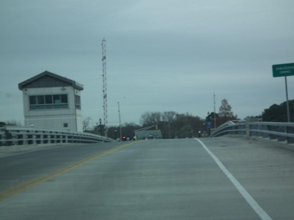 The drawbridge at Chincoteaque, Virginia THE CHESAPEAKE TODAY photo