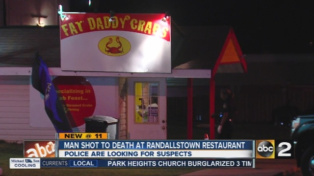 Fat Daddy's Crabs murder in Randallstown, Md. photo courtesy of ABC 2 Baltimore