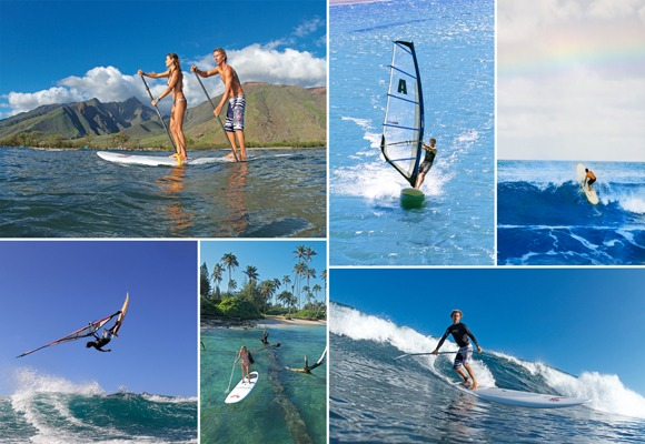 Paddleboard Windsurfing Crossovers