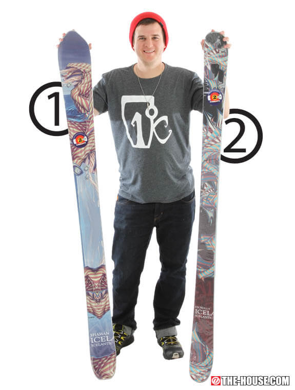 Boom Bam Icelantic Skis