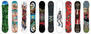 Ten Ten Snowboard Graphics