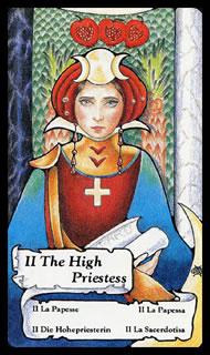 Betekenis Tarotkaart De Hogepriesteres