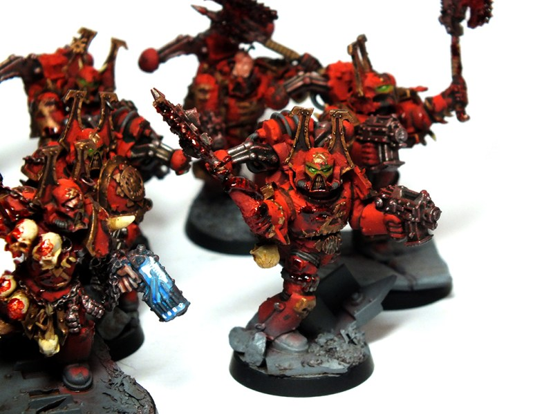 Khorne Berzerkers Commission Warhammer 40k kharn the betrayer commissions