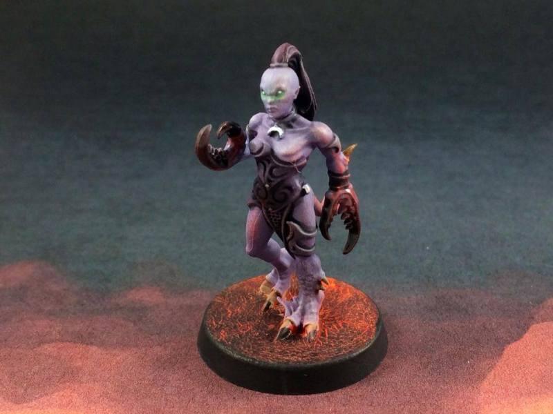 Slaanesh Daemonettes Commission Warhammer 40k tutorial commissions
