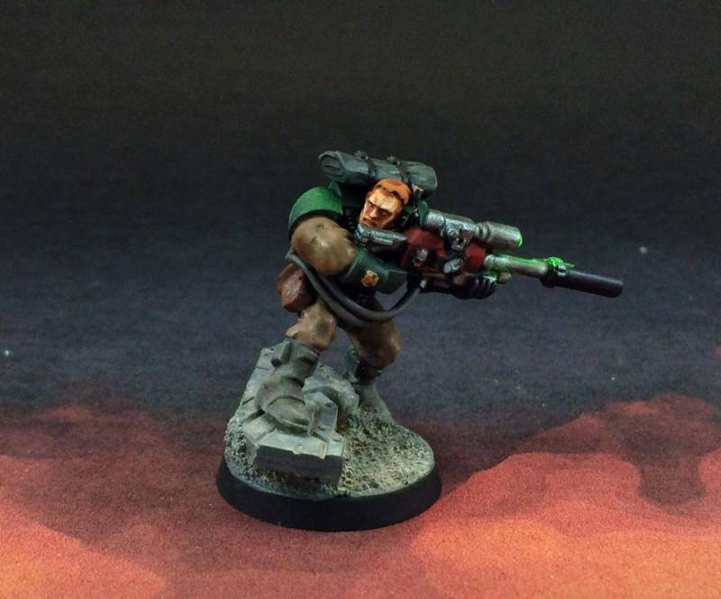 Dark Angel Scouts Commission Warhammer 40k tutorial OSL commissions