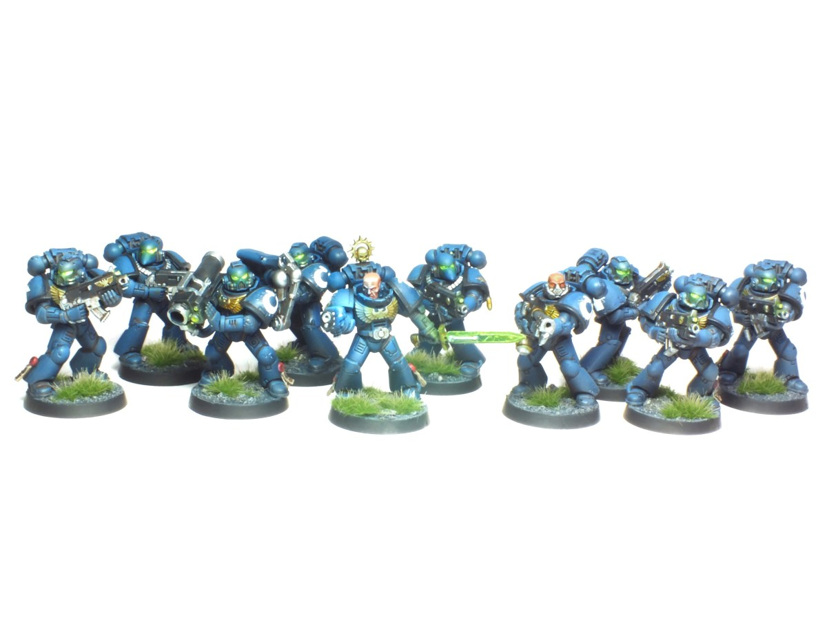 Ultramarine Tactical Squad Commission Showcase