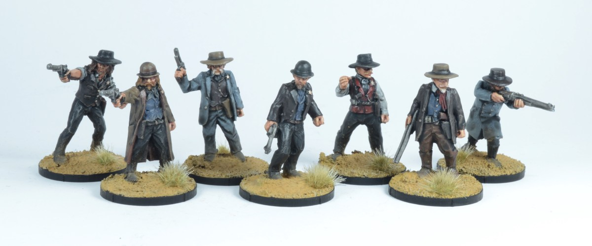 Dead Man's Hands Outlaws and Lawmen Commission Showcase