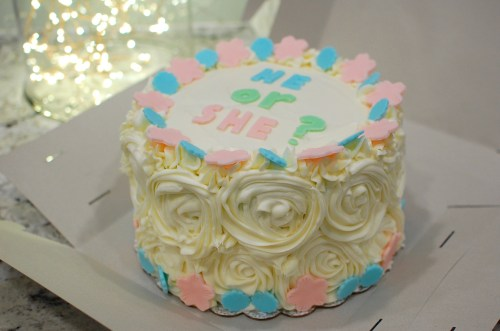 Medium Of Gender Reveal Cake Ideas
