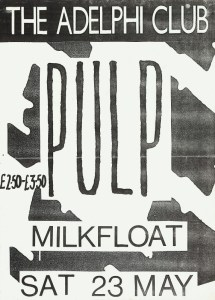 Pulp played The Adelphi many times.