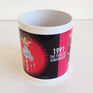1991 - The Year of Kingmaker. 25th Anniversary Mug. £6