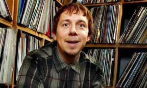 Gilles Peterson with some of his record collection