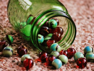 Finding Blossoms in a Jar of Marbles