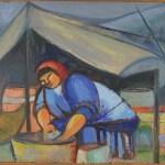 Leela in the Tent