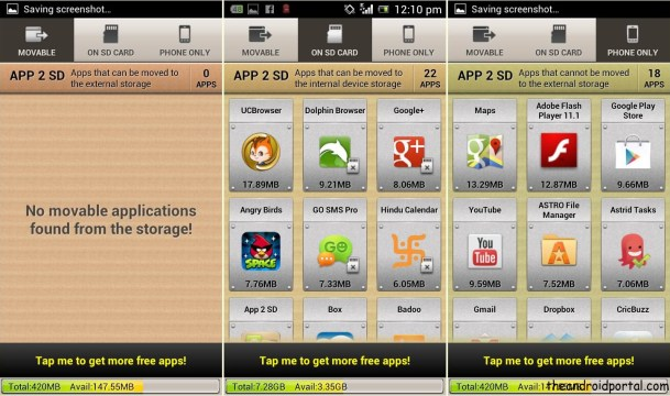 App 2 SD - Install All Apps On SD Card On Your Android Device