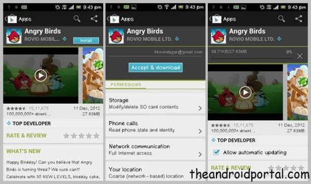 App 2 SD – Install All Apps On SD Card On Your Android Device