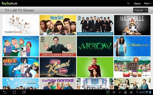 Hulu Plus Android Apps on Google Play Top 10 Free Online TV Apps For Android Tablet