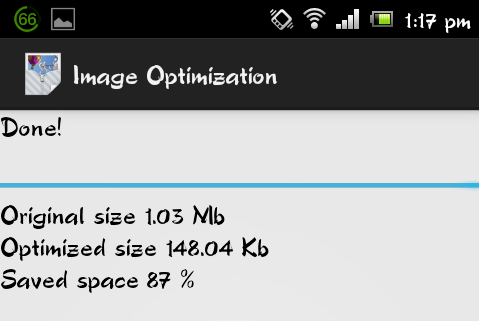 5 2 Image Optimizer   Shrink Images To Save SD Card Space On Android