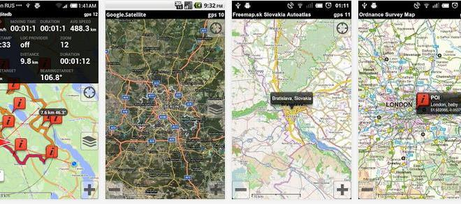 Offline GPS Map Navigation On Android