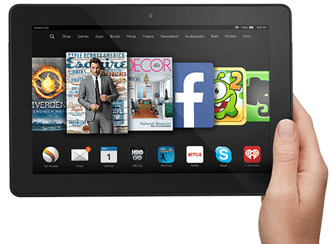 New Kindle Fire HDX 8.9 Inch Tablet With Quad Core Processor