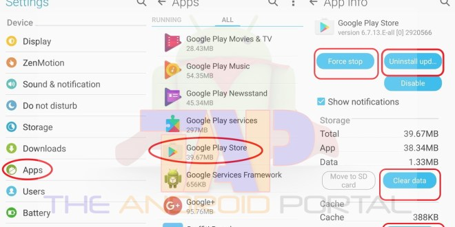 how to fix play store will not open error