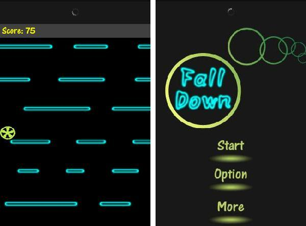 Fall Down android app
