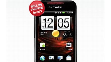 Verizon pushes Droid incredible to August 3