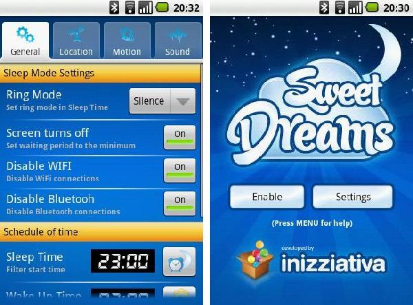 sweet dreams android app