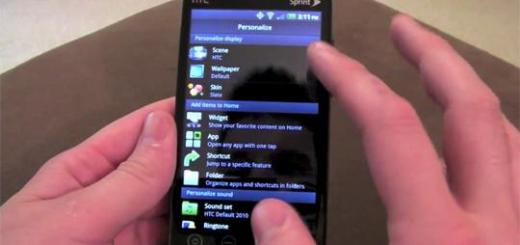 HTC Desire HD ROM n Droid Incredible