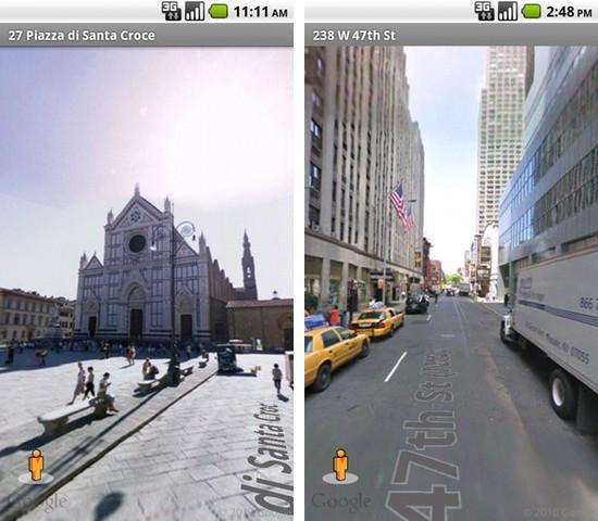 Street View on Google Maps