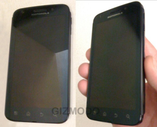 Motorola Olympus Leaked Pics Snaps