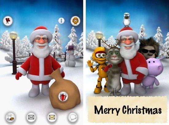 Talking Santa Free