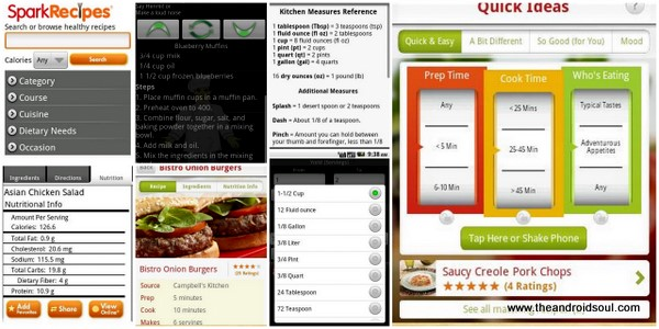 Best Android Apps for Cooking