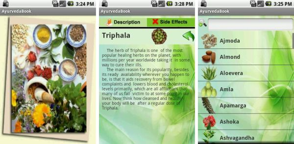 AyurvedaBook Android App